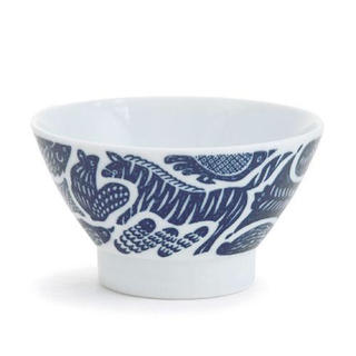 ハサミ(HASAMI)の動物柄 茶碗  ☻ 波佐見焼 白山陶器 クラスカ イデー (食器)