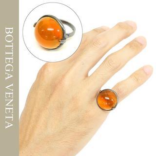 Bottega Veneta - 10BOTTEGA VENETA天然石&オキシダイズドシルバーリング
