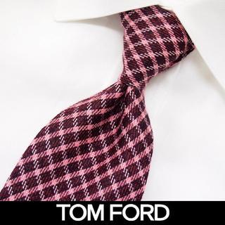 トムフォード(TOM FORD)の27 TOMFORD チェック ネクタイ(ネクタイ)