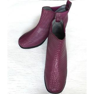 Pansy レインブーツ パープル 22.5㎝(レインブーツ/長靴)