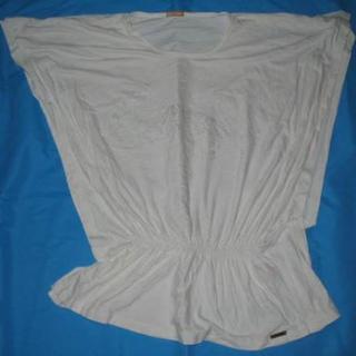ジョンガリアーノ(John Galliano)のジョンガリアーノプルオーバーカットソーTシャツ白ホワイト(カットソー(半袖/袖なし))