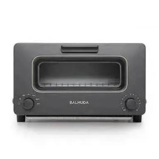 バルミューダ(BALMUDA)のバルミューダ   トースター (K01E-KG)のブラック(調理機器)