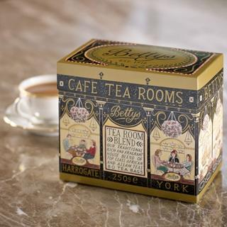Bettys Tea Room Blend Tea 80ティーバッグ紙箱入り(茶)