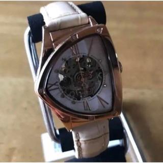 コグ(COGU)の新品✨ コグ COGU フルスケルトン 自動巻き 腕時計 BS01T-RG(腕時計)