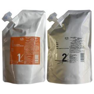 値下済 新品未開封 プロ業務用 縮毛矯正剤 JEST ST(強力タイプ) (パーマ剤)