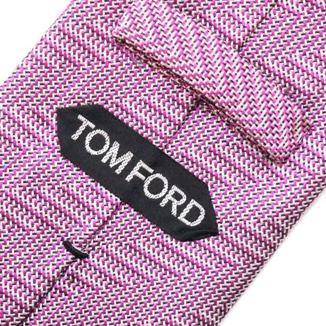 TOM FORD(トムフォード)の85TOMFORD パープル SILK ネクタイ メンズのファッション小物(ネクタイ)の商品写真