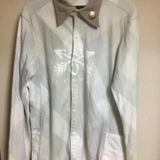 エム(M)のクロスドアロー  バーンアウトのチェックシャツ  L(シャツ)