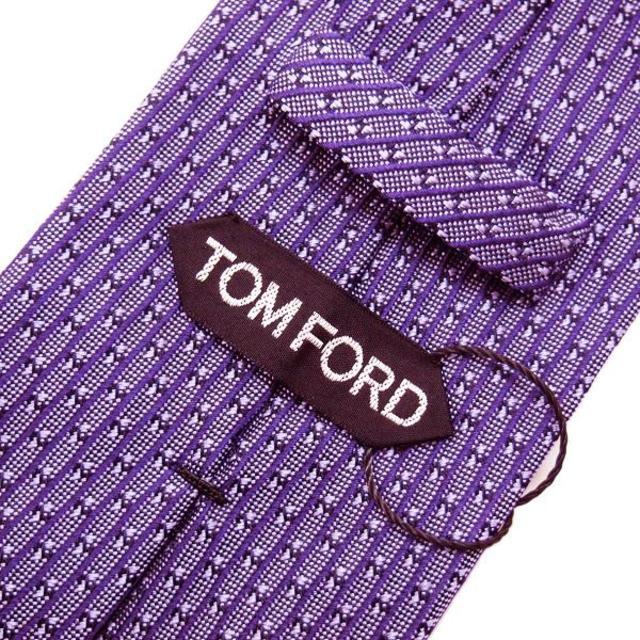 TOM FORD(トムフォード)の82TOMFORD  パープル SILK ネクタイ メンズのファッション小物(ネクタイ)の商品写真