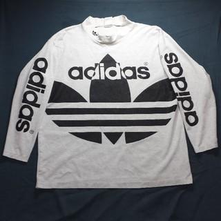 アディダス(adidas)のadidas デサント アディダス デカロゴ ロンT 葉っぱロゴ(Tシャツ/カットソー(七分/長袖))