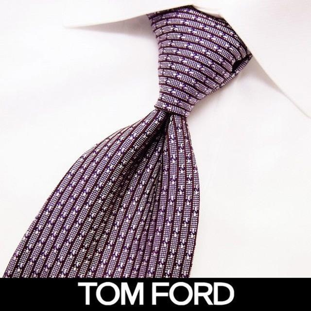 TOM FORD(トムフォード)の79 TOMFORD パープル系 SILK ネクタイ メンズのファッション小物(ネクタイ)の商品写真