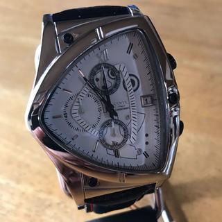 コグ(COGU)の新品✨コグ COGU アシンメトリー クロノグラフ 腕時計 C43-WH(腕時計(アナログ))