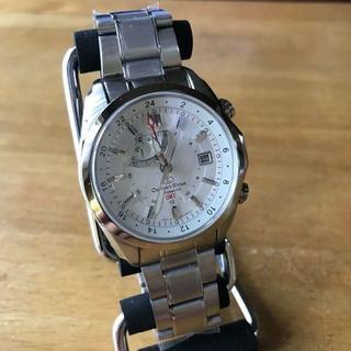 オリエント(ORIENT)のオリエント オリエントスター GMT 自動巻き 腕時計 SDJ00002W0(腕時計(アナログ))