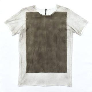 カズユキクマガイアタッチメント(KAZUYUKI KUMAGAI ATTACHMENT)のカズユキクマガイ KAZUYUKI KUMAGAI 顔料プリント Tシャツ 2(Tシャツ/カットソー(半袖/袖なし))