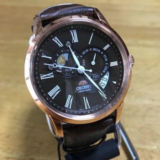 オリエント(ORIENT)の新品✨オリエント サン&ムーン 自動巻き メンズ 腕時計 SET0T003T0(腕時計(アナログ))