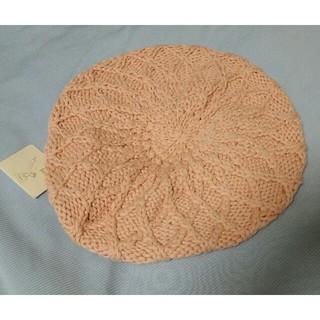 ジュゼ(Juze)のJuze ジュゼ 帽子 コットン オレンジ ニット帽(ニット帽/ビーニー)