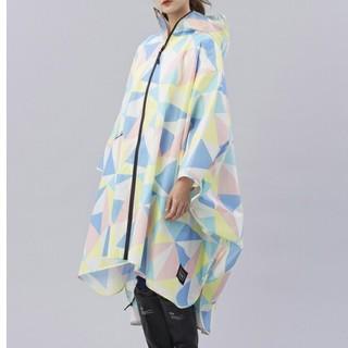 キウ(KiU)のkiu レインポンチョ 2018 男女兼用 レインコート  新品ナノ・ユニバース(レインコート)