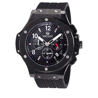クロノグラフ レーシングウォッチ (Whole Black) (腕時計)
