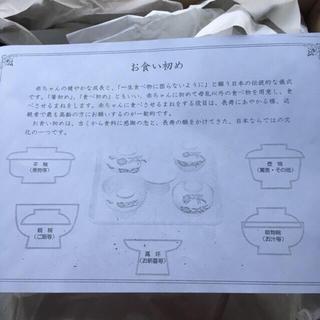 お食い始めセット(お食い初め用品)