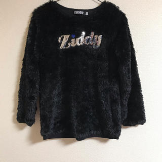 ZIDDY トップス 冬 黒 150