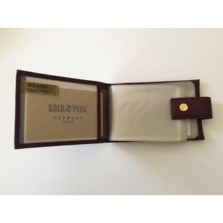ゴールドファイル(GOLD PFEIL)のGOLD PFEIL ゴールドファイル カード入れ (20枚〜)(財布)