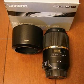 タムロン(TAMRON)のTAMRON SP 90mm F2.8 Di MACRO VC F004N(レンズ(単焦点))