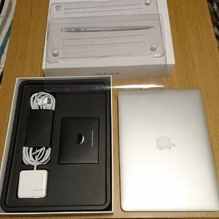 マック(Mac (Apple))のMacbook air 2017 美品!(ノートPC)