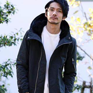 ダブルジェーケー(wjk)の【wjk black】マイクロクロスN-2Bジャケット(ミリタリージャケット)