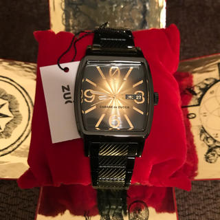カバンドズッカ(CABANE de ZUCCa)のCABANE de ZUCCa  未使用☆黒×ゴールド(腕時計(アナログ))