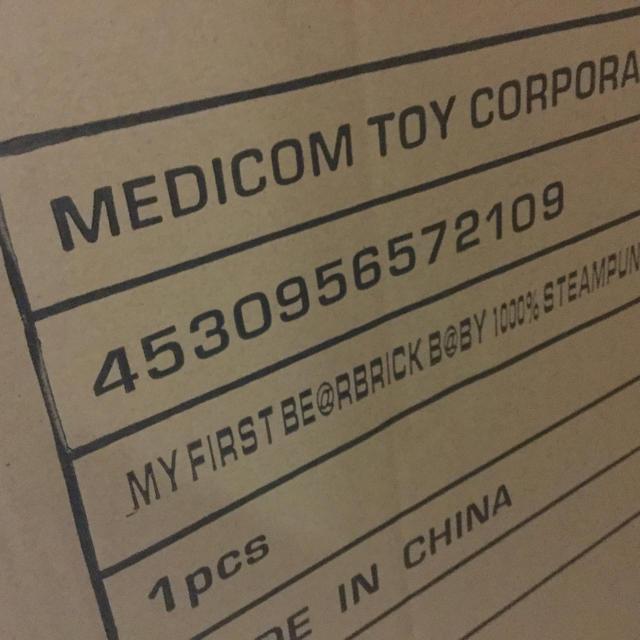 MEDICOM TOY(メディコムトイ)の送料込 メディコムトイ My first baby 1000% スチームパンク エンタメ/ホビーのフィギュア(その他)の商品写真