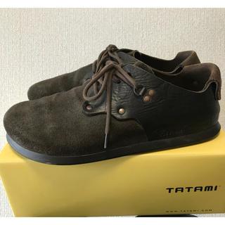 タタミ(TATAMI)のTATAMI タタミ  シャノン サイズ43 モカ/チョコ ブラック/ブラック(スニーカー)