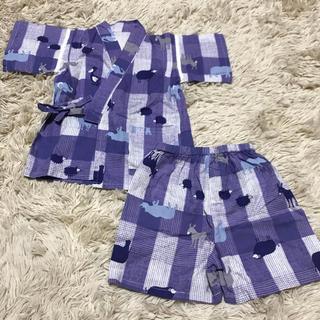 アニマル甚平 90サイズ(甚平/浴衣)