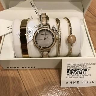 アンクライン(ANNE KLEIN)の おすすめ✨アンクライン ✨  腕時計 ブレスレット バングル 4点セット(腕時計)