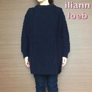 イリアンローヴ(iliann loeb)の【iliann loeb】ニット / ネイビー(ニット/セーター)