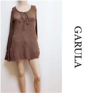 ガルラ(GARULA)のGARULA ▶︎トレンド♡スピンドル ニット♡ダイヤ マウジー スライ(ニット/セーター)