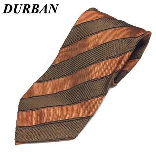 ダーバン(D'URBAN)のS124 美品 ダーバン DURBAN ネクタイ シルク 斜めストライプ(ネクタイ)