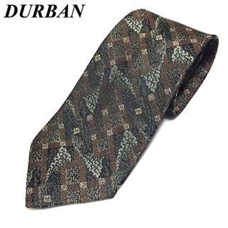 ダーバン(D'URBAN)のS125 美品 ダーバン DURBAN ネクタイ シルク 総柄 (ネクタイ)