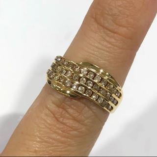 K18 ダイヤモンド リング 0.50ct(リング(指輪))