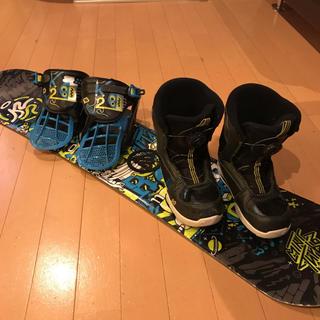 ケーツー(K2)のスノーボード K2ミニターボ  キッズ ボード 3点セット(ボード)