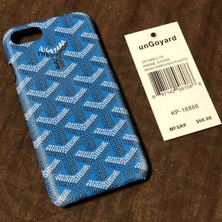 UNGOYARD アンゴヤール iPhone8カバー ブルー 新品