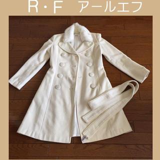 アールエフ(R・F)のR・F  アール・エフ♡ラビットファー付 コート(ロングコート)
