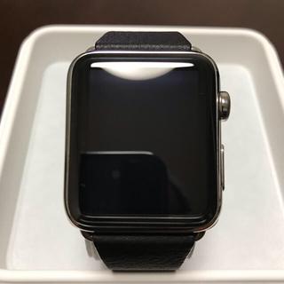 アップルウォッチ(Apple Watch)のApple Watch 42mm(スマートフォン本体)