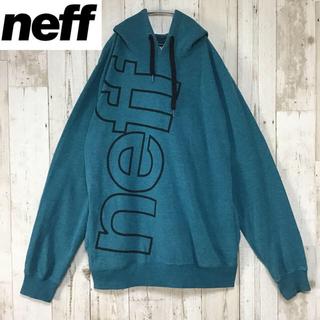 ネフ(Neff)の【neff ネフ】【ビッグロゴ】【大きめ パーカー 】(パーカー)