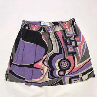 エミリオプッチ(EMILIO PUCCI)のエミリオプッチ スカート ♡大人気の台形スカート♡ サイン多め(ひざ丈スカート)
