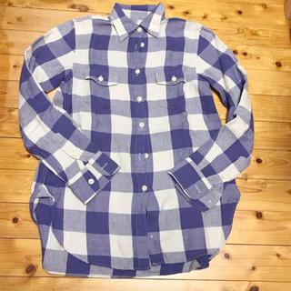 デニムアンドサプライラルフローレン(Denim & Supply Ralph Lauren)の美品 denim&supply チェックシャツ(シャツ/ブラウス(長袖/七分))