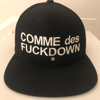 SSUR COMME des FUCKDOWN キャップ ブラック
