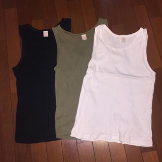 ザリアルマッコイズ(THE REAL McCOY'S)のリアルマッコイズ タンクトップ 3着セット(Tシャツ/カットソー(半袖/袖なし))
