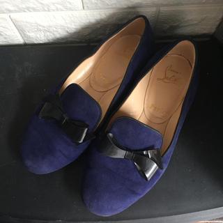 クリスチャンルブタン(Christian Louboutin)のクリスチャン ルブタン オペラシューズ フラットシューズ(ローファー/革靴)