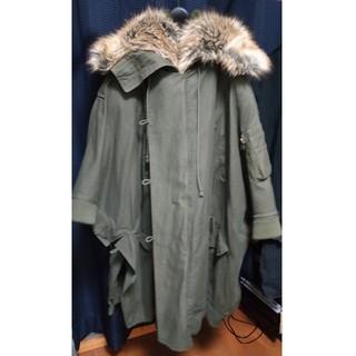 バルマン(BALMAIN)のFAITH CONNEXION 17aw cape coat(モッズコート)