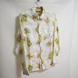 ガイジンメイド(GAIJIN MADE)のGAIJIN MADE 外人公司 聖林公司 フラミンゴ柄ボタンダウンシャツ(シャツ)