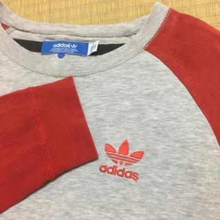 アディダス(adidas)のラグラン ロンT adidas(Tシャツ/カットソー(七分/長袖))